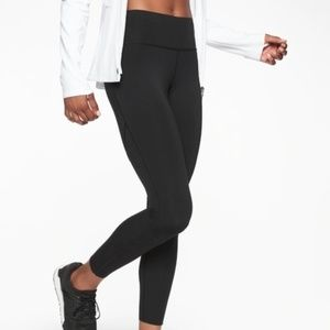 NWOT Athleta Black Challenge 7/8 Leggings